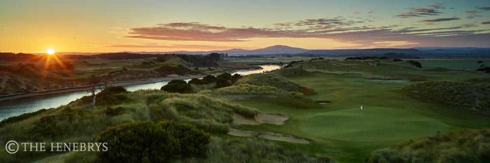 15th, Barnbougle Dunes Golf Links, Tasmania, Australia