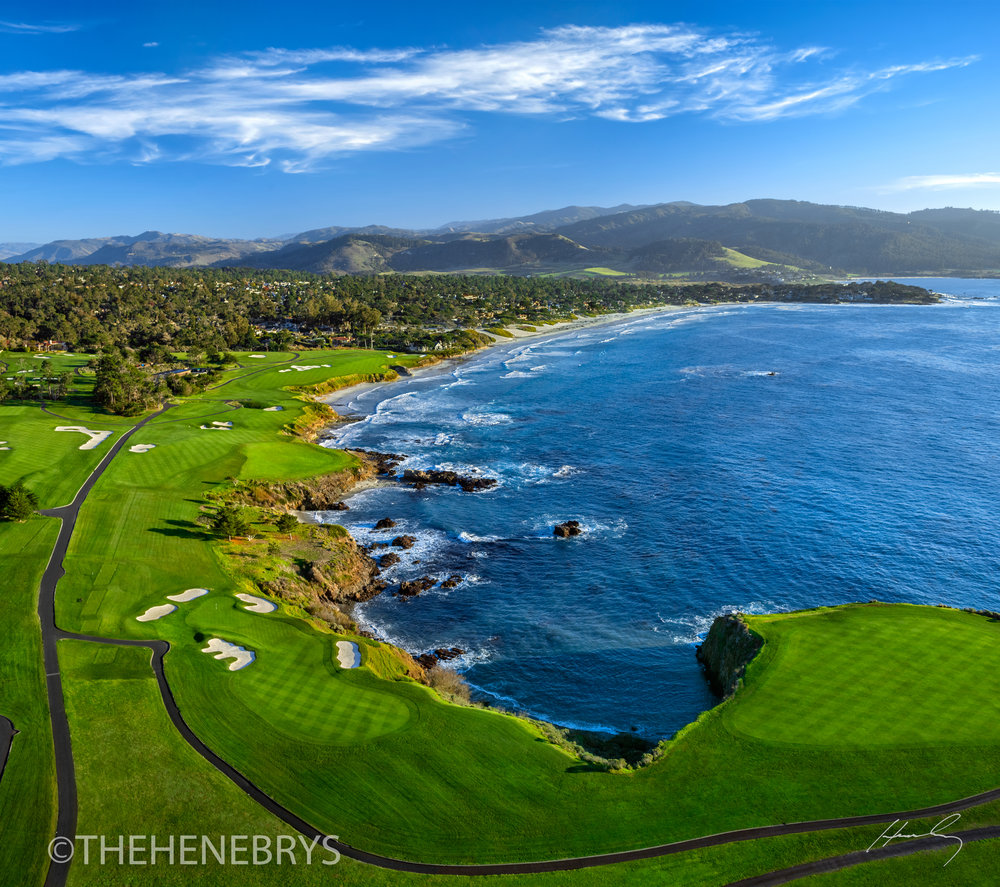 """The Turn"" Pebble Beach Golf Links®, California"