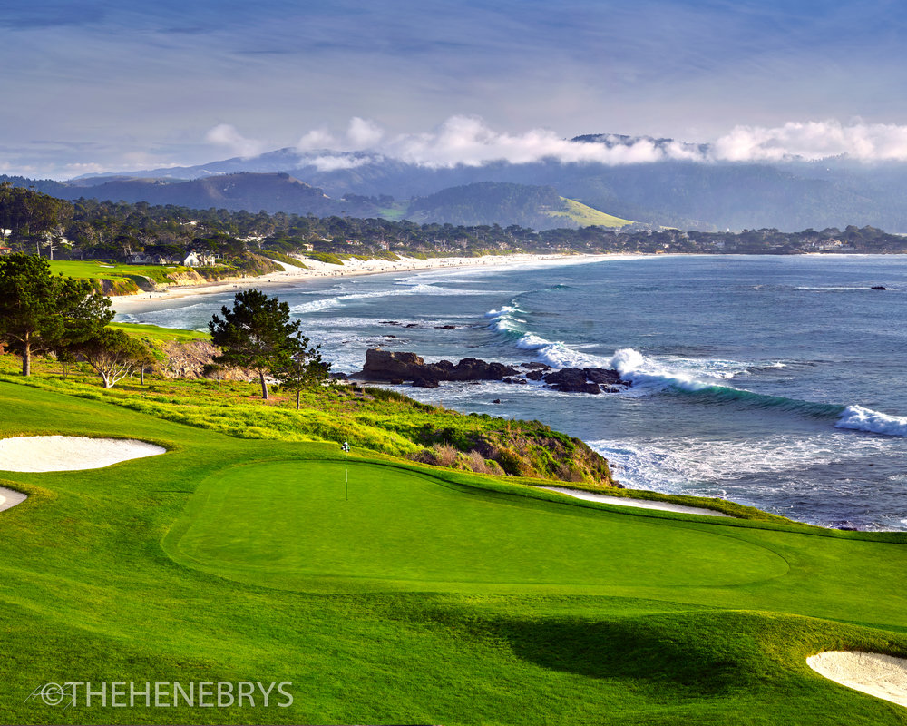 """Dance Floor"" #08 Pebble Beach Golf Links®, California"