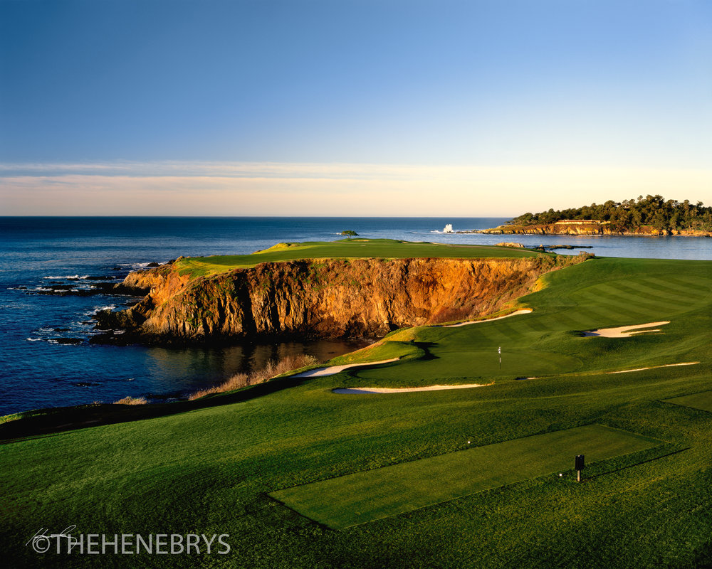 """By Dawn's Early Light"" Pebble Beach Golf Links®, California"