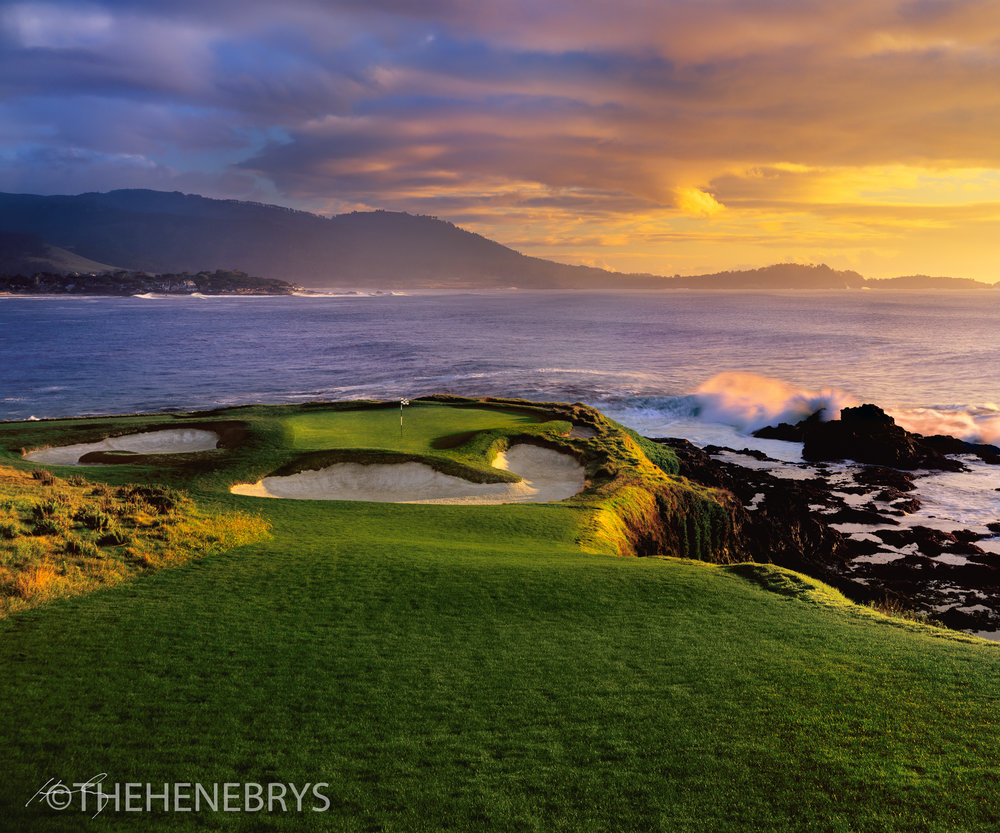 """Magical"" #07 Pebble Beach Golf Links®, California"