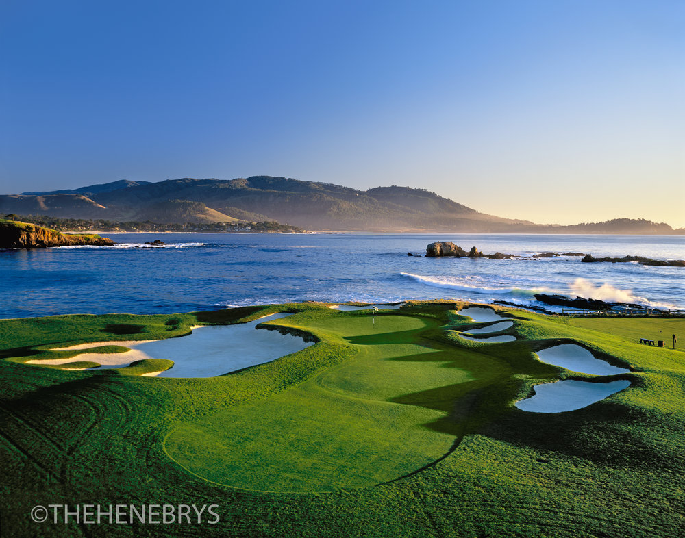 """Almost Home"" #17 Pebble Beach Golf Links®, California"