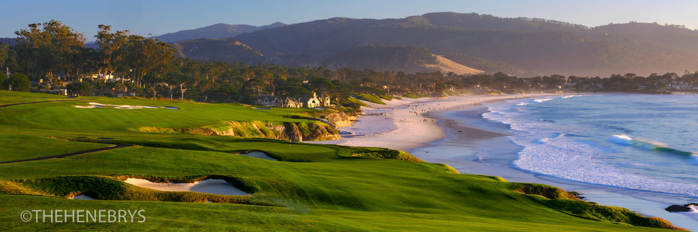 """By The Sea"" #09 Pebble Beach Golf Links®, California"