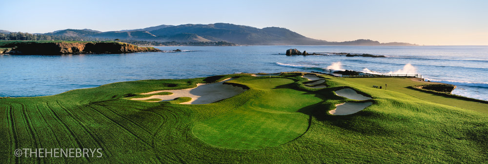 """Almost Home"" Pebble Beach Golf Links®, California"