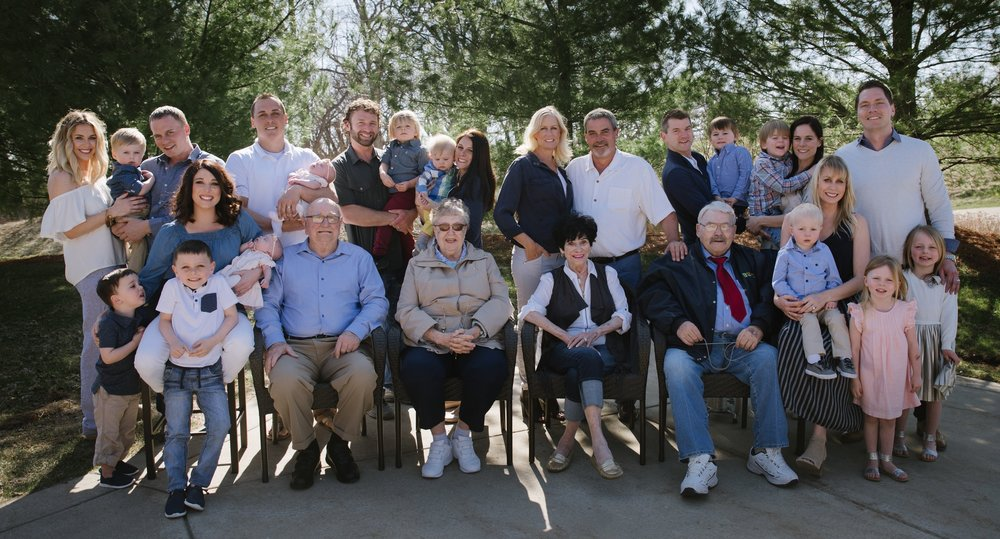 Meet The Nelson Family  - Four Giving Generations