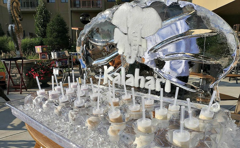 Thanks to Kalahari Resorts & Conventions for donating the evening extravaganza.