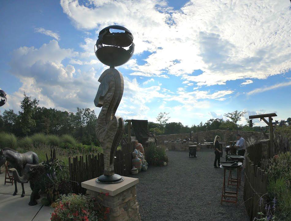 Entrance to the boma just off one of Kalahari Resorts & Conventions banquet spaces. Thanks Kalahari!