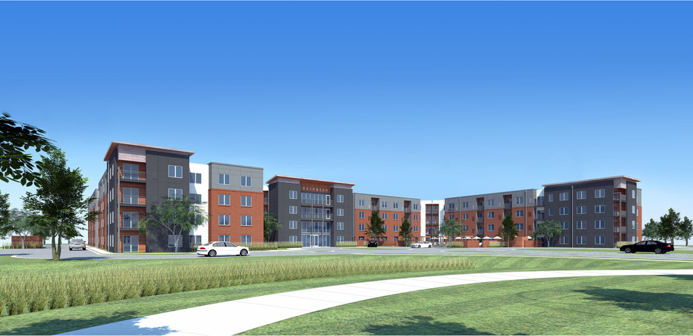 The Monarch - Covington Realty Partners is developing The Monarch, a multi-family residential property in Des Plaines, IL.