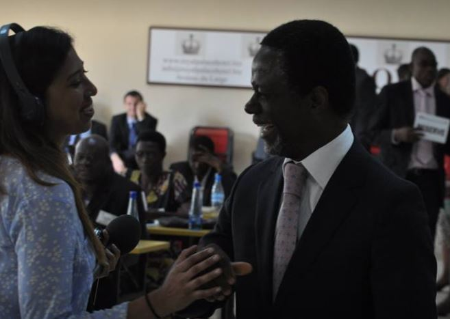 Parfait Onanga-Anyanga is the United Nations Special Representative for the Central African Republic