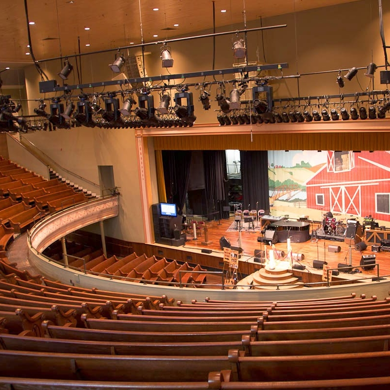Concert Tickets - This is the Ryman, one of our favorite places to see shows in Nashville. It's so fun to pick out a pair of concert tickets, and build a date night around it!