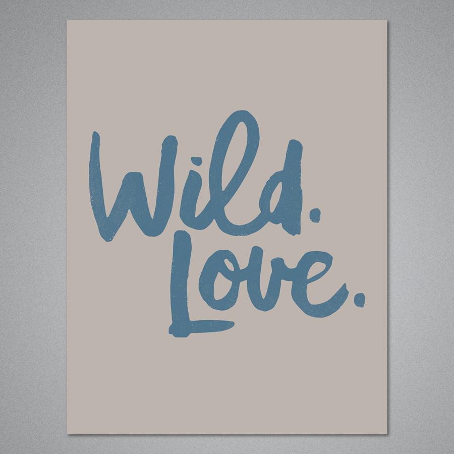 Wild Love Card