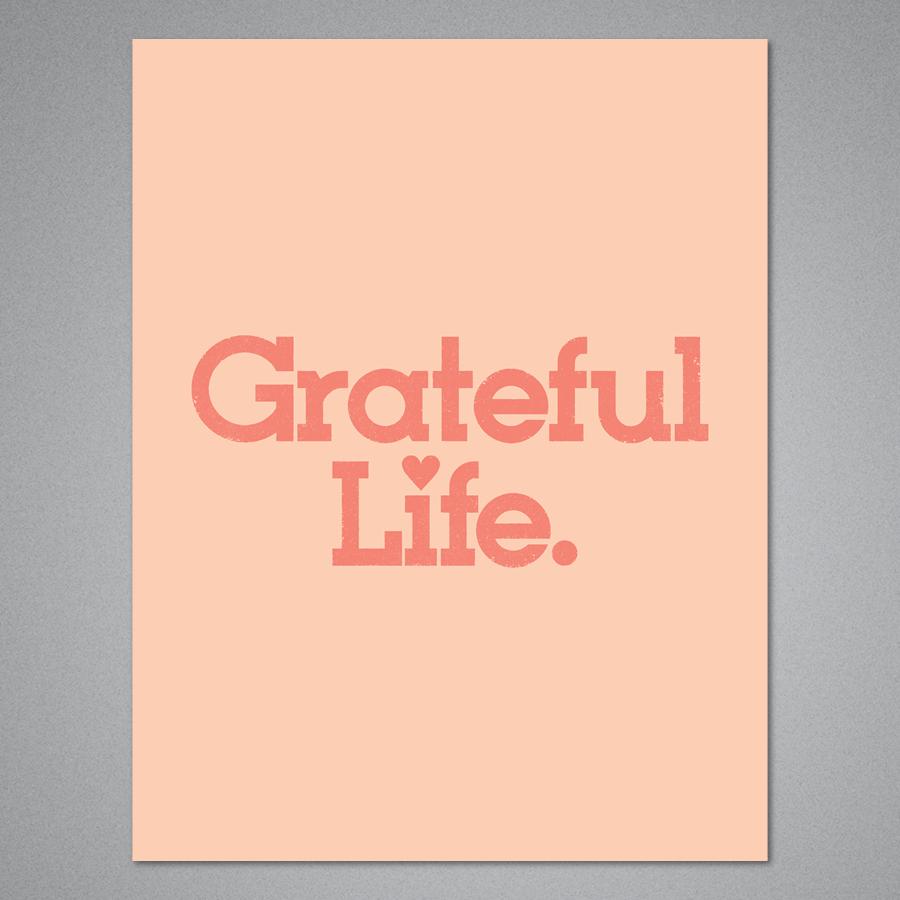 Grateful Life Card
