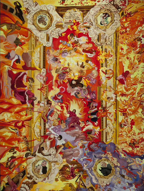Triumph of Fire Ceiling