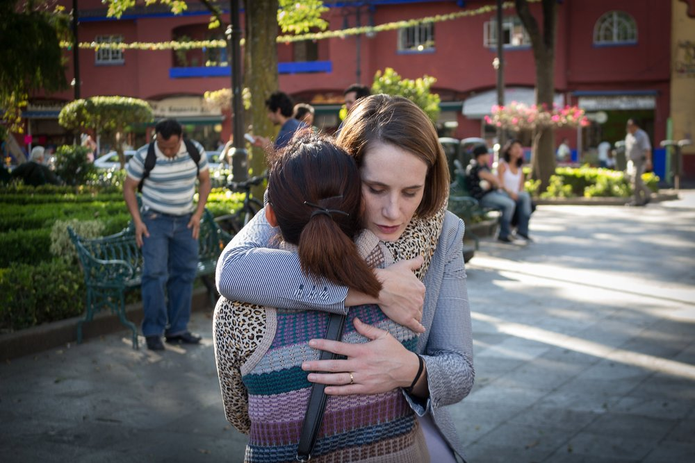 Rachel Garcia |  President  Rachel was invited to live in Mexico City with survivors in the summer of 2012.  While in Mexico, Rachel's life became entwined with the lives of these women as she heard stories of their brokenness and dreams of the future. In the years that followed, Rachel received her masters in  ICT for Development from CU Boulder,  married the love of her life and helped co-found Reintegra USA.  Rachel currently works as a Middle School teacher in San Antonio, TX while she continues to be involved in anti-trafficking efforts.