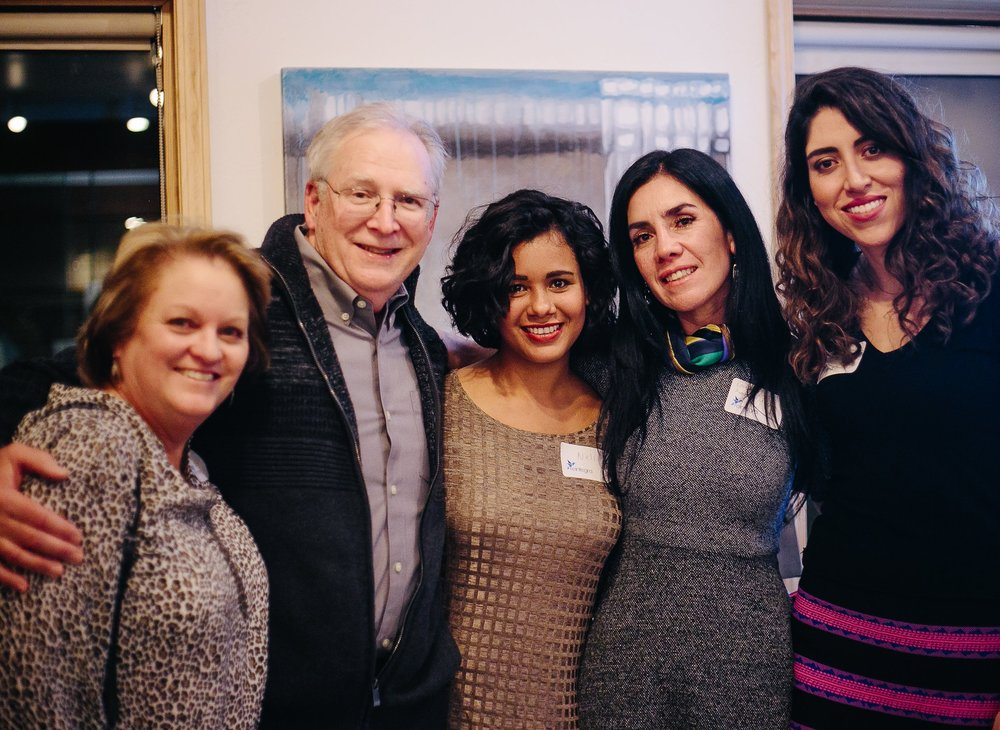 Rich Lotteries |  Board Chair  Rich is pictured above with his lovely wife Brenda, Neli, Lorena  (German Villar's widow)  and Ayla of the   Comision Unidos vs. Trata  .  As the former owner of Urban Mattress Boulder, Rich graciously lent his expertise and helped finance Reintegra becoming a 501c3 in 2015.  Rich currently is as paid consultant for non-profits while serving as President of  Global Service Associates .  Rich and Brenda have three adult children and one granddaughter.  We are honored to have him give leadership to our board.