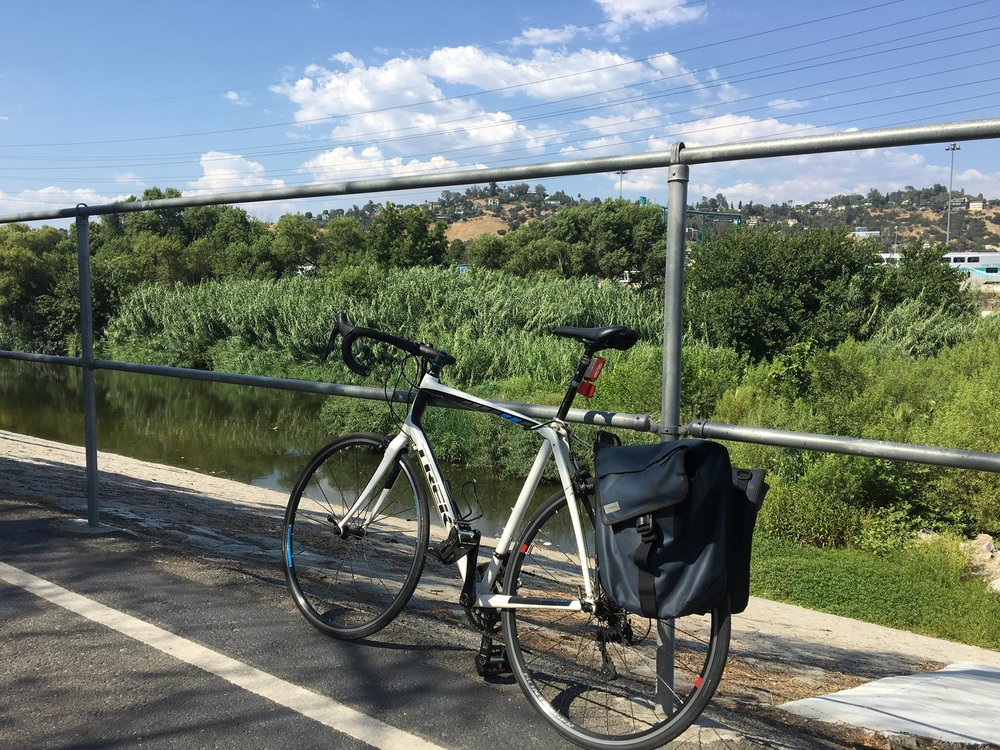 I took up cycling somewhere around my 40th birthday. The LA River bike path is a frequent ride of mine.
