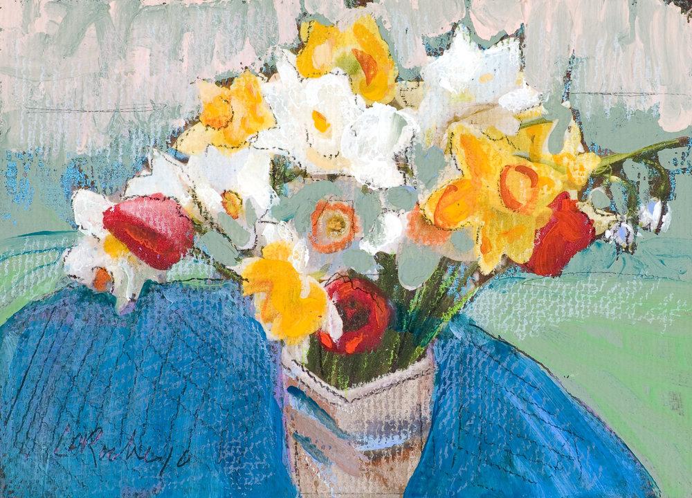Vicki's Flowers Study