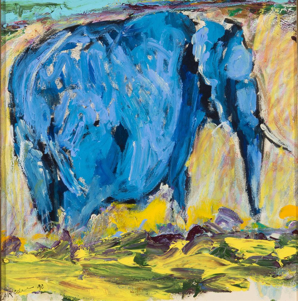 Blue Elephant (Memory Matters)