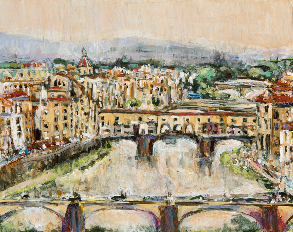 Ponte Vecchio, Florence Italy (Commission)