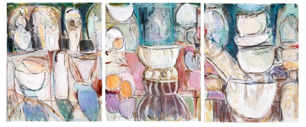 Jan's  Studio Triptych