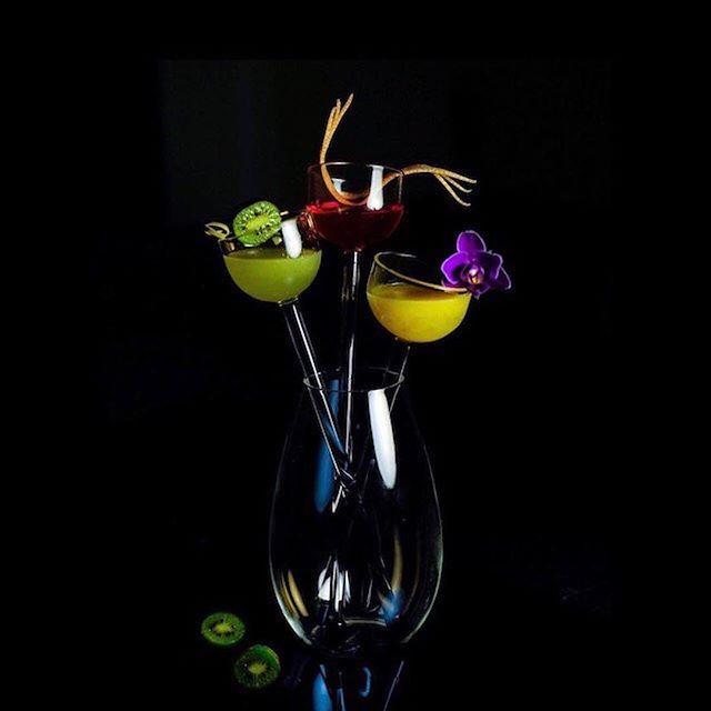 The cutest! • #Repost @jakobsendsgn ・・・ Flower boutique by @thetipsymuse and #jakobsendesign 🍡  #cocktail #cocktails #craftcocktails #cocktail_feature #mixologist #liqpic #cocktailbar #bar #bartender #barman #drink #drinks #horeca #lemonade #campari #rum #recipe #mixology #czechdesign #imbibegram #worldbestbars