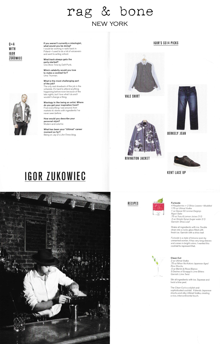 Collaboration with  rag & bone .