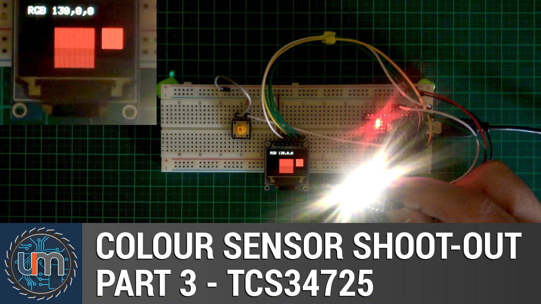 Colour Sensor Shoot Out Part 3 Tcs34725 Unexpected Maker Color Circuit Electronic
