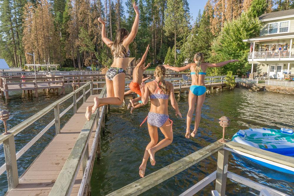 Bass Lake Summer - Madera County, California Photo by Kim Lawson
