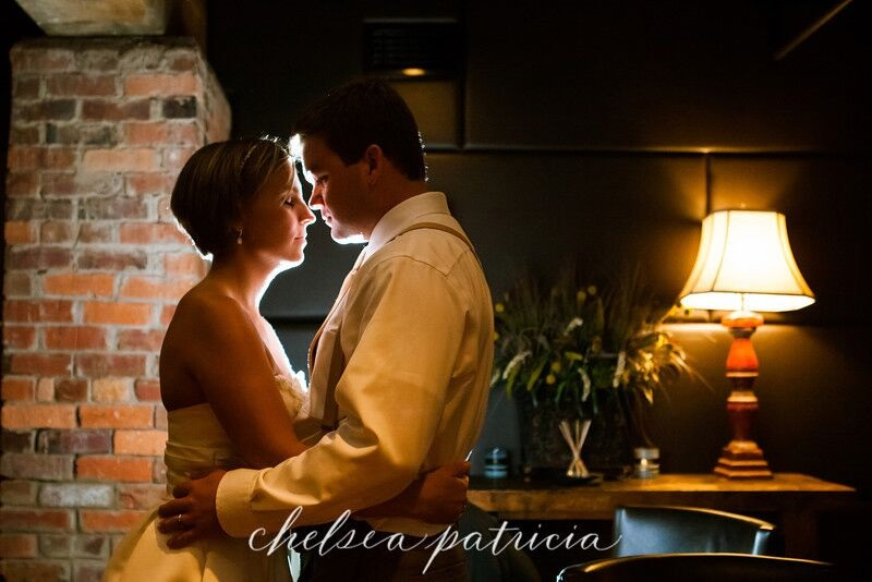 bride and grooom in cellar.jpg