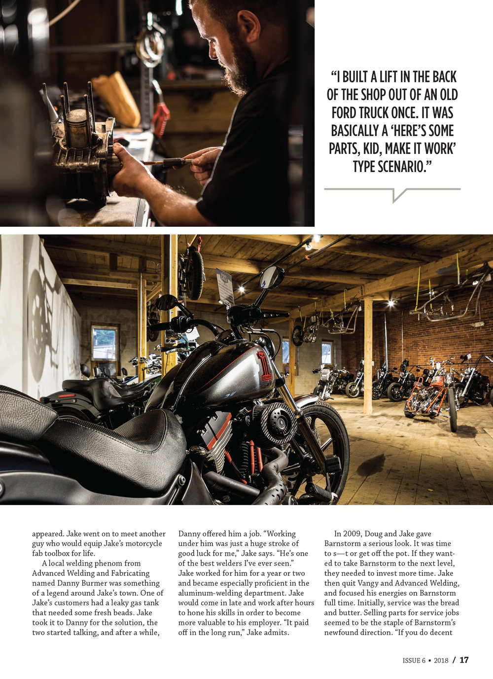 Barnstorm Cycles for HotBike