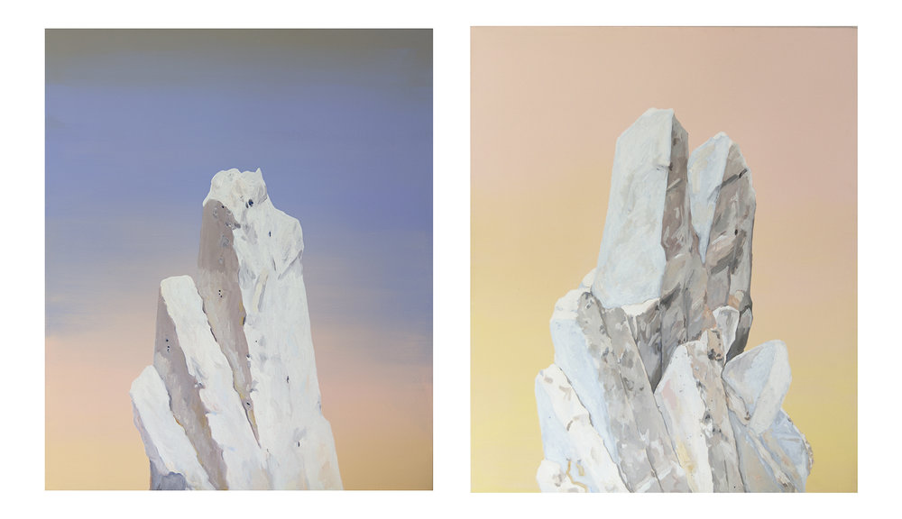 The Great Silence Diptych
