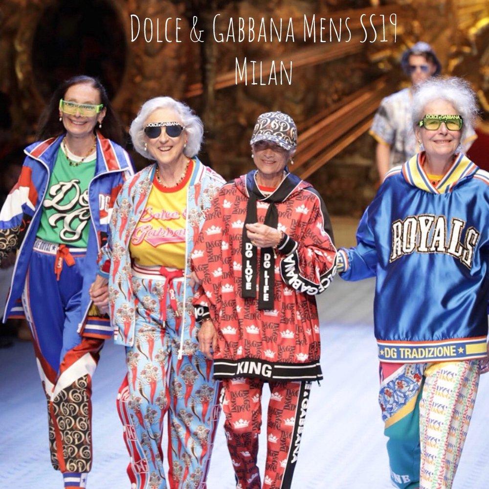 bb8b422eda0 Dolce   Gabbana Spring Summer 2019 — Contemporary Thingz