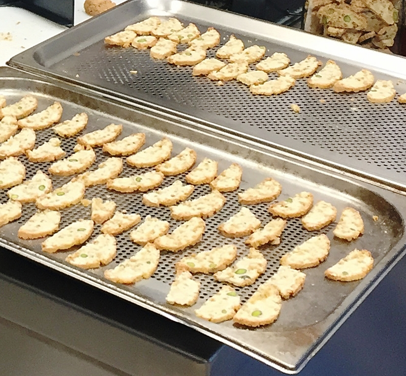 Tray of Biscotti
