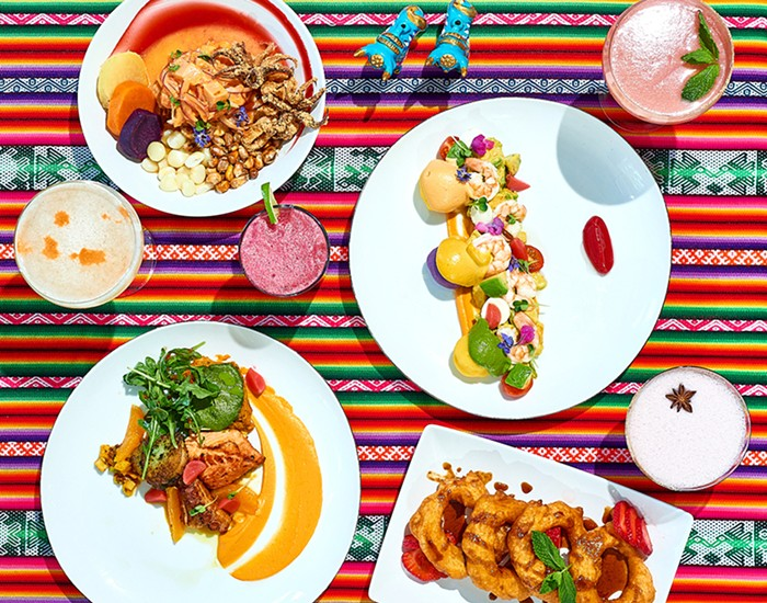 "'""Bright Colors and Brighter Flavors at Casa Zoraya""   Portland Mercury"