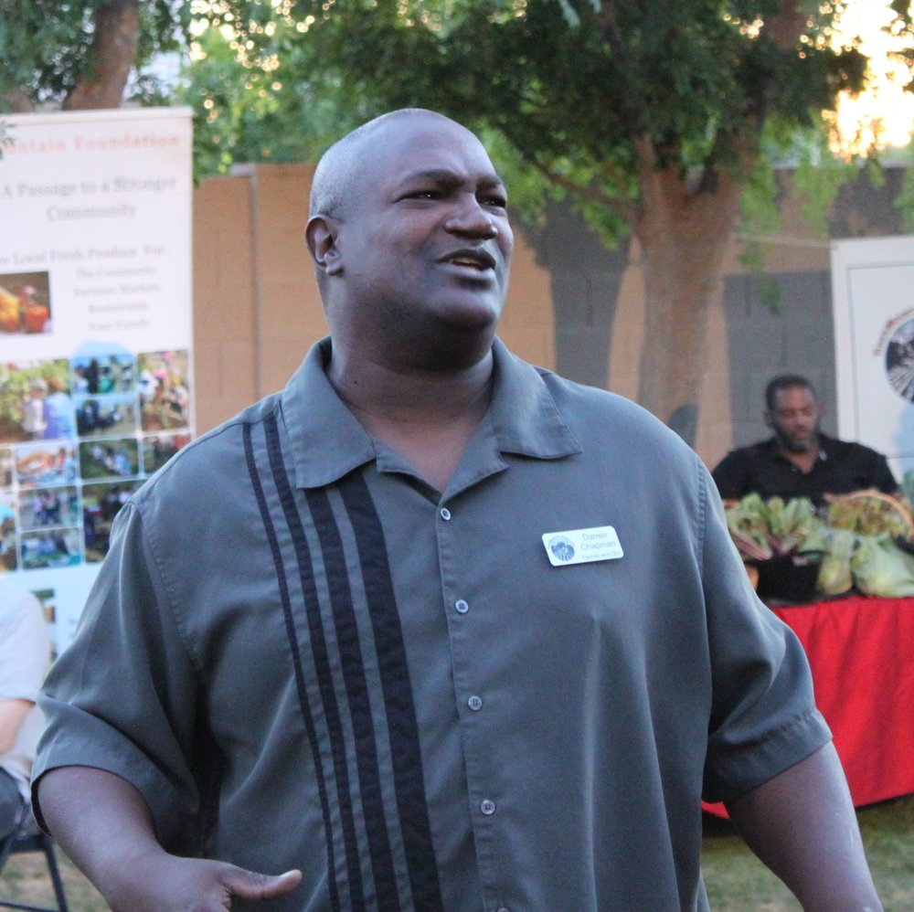 Darren Chapman, CEO & Founder of Tiger Mountain Foundation    Darren Chapman is a community pro-activist who has committed his life to helping people. He is Founder and CEO of TigerMountain Foundation (a.k.a. TMF), which has implemented Empowerment Initiatives to uplift and develop communities and eliminate blight. TMF's initiatives are community garden / landscaping development, audio, visual and performance art, community service and volunteerism.     Darren is from south-central Los Angeles but currently resides and works in South Phoenix and the Phoenix Metropolitan area.    More About Darren