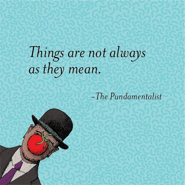 A little reminder for those situations when things get literal. #punsayings #pun #thingsarenotalwaysastheymean #literally #literalmeaning
