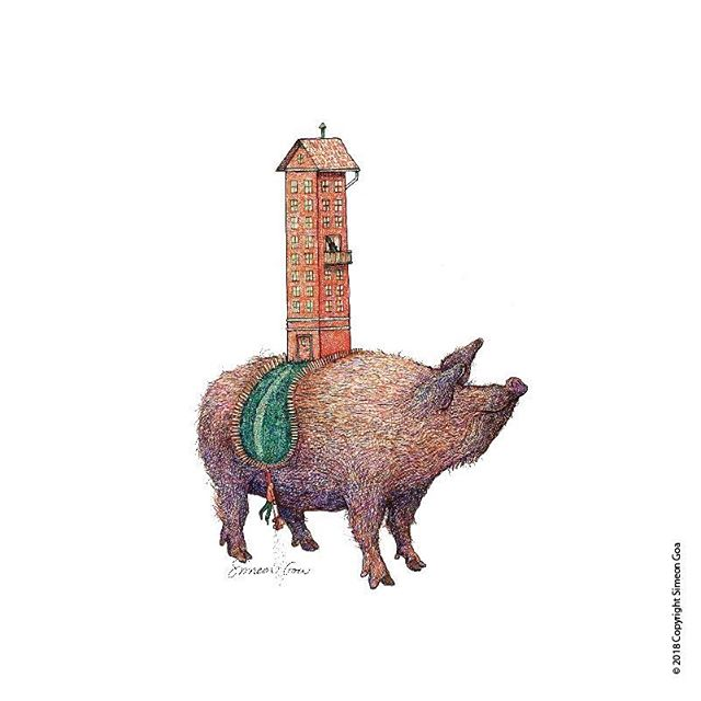 Sprinkle some pun on 2019 with my smithed by words illustrated calendar. #visualpun #livinghighonthehog #vanguard #takingthebullbythehorns #humour #calendar #art #thepundamentalist
