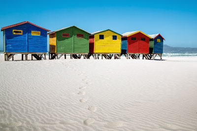 Beach, beach, beach. There will be plenty of chilling and grilling on the wonderful white sand beaches of Cape Town.