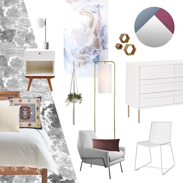We love creating mood boards especially for our out of city and country clients.  That is an example of one our e design projects for our clients bedroom.  We are excited to see this room come to life. . . . #moderneradesign #interiordesign #interiordecor #design #inspiration #edesign #masterbedroom #bohomodern #graphicdesign #furniture #sourcing #coleandsonwallpaper #services #yegdesigner #inspiration