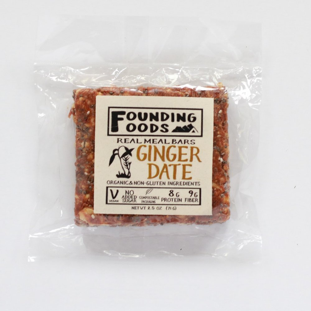Founding Foods Ginger Date Bar