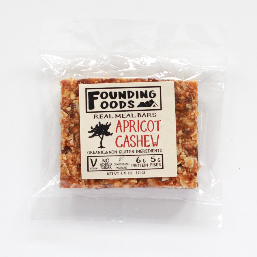 Founding Foods Apricot Cashew Bar