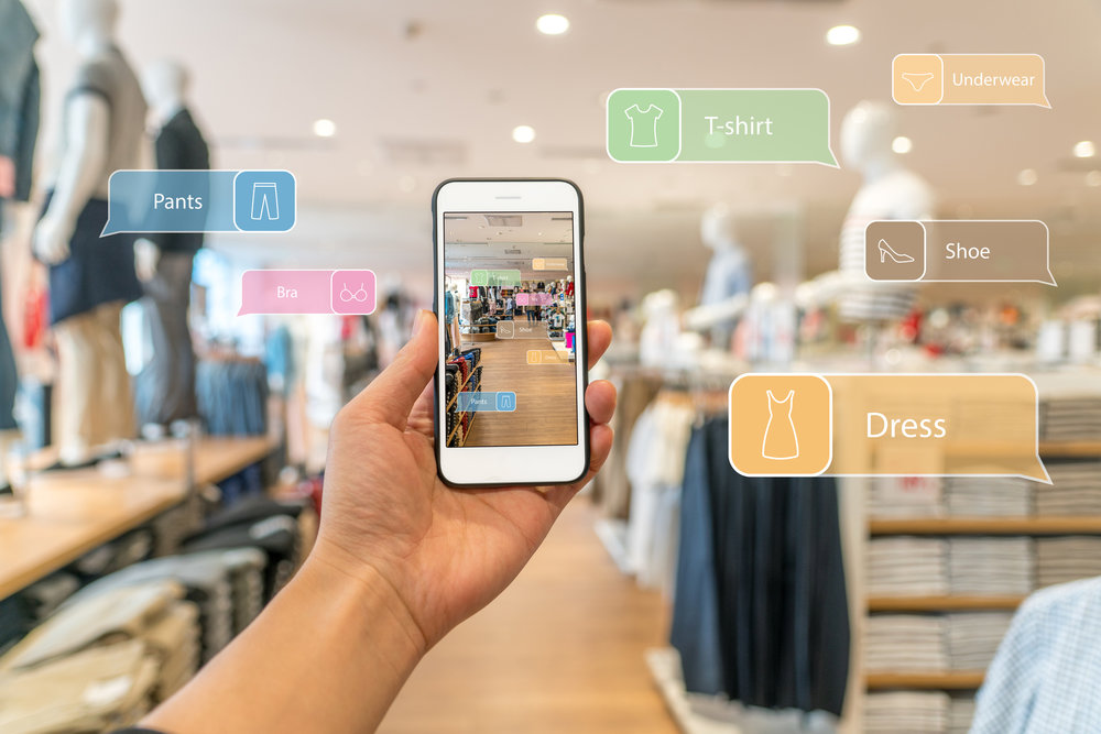 Reinventing the retail experience via augmented reality shopping and omni channel sales.