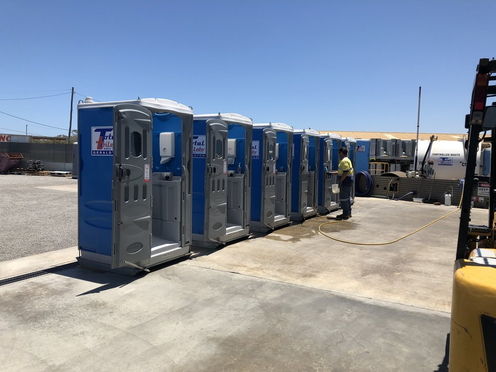 Servicing Portable Toilets