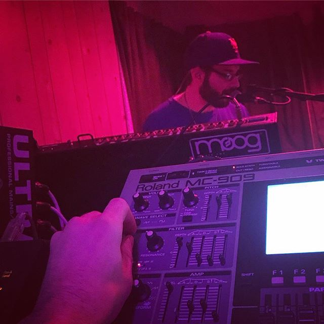@smilkysmooth gettin nice on the vocoder. We've got a brand new track we're gonna play for you. Don't miss it!