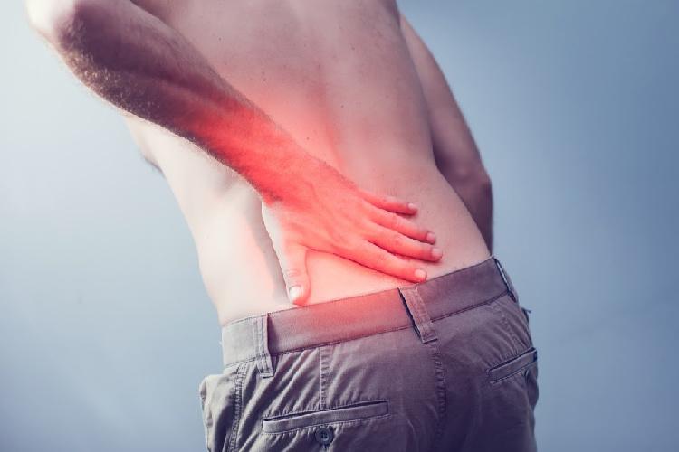Humulene- man with back pain