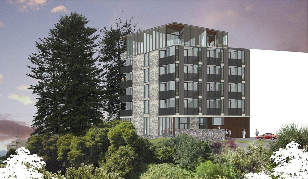 Akepiro Street Multi-Unit Residential Design Competition