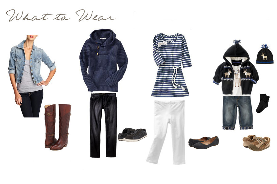 what to wear family photography