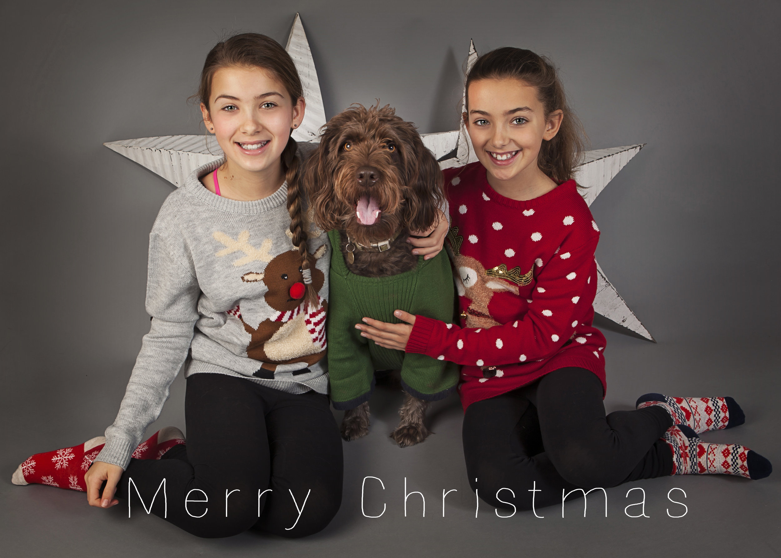 xmas card girls obi 2015
