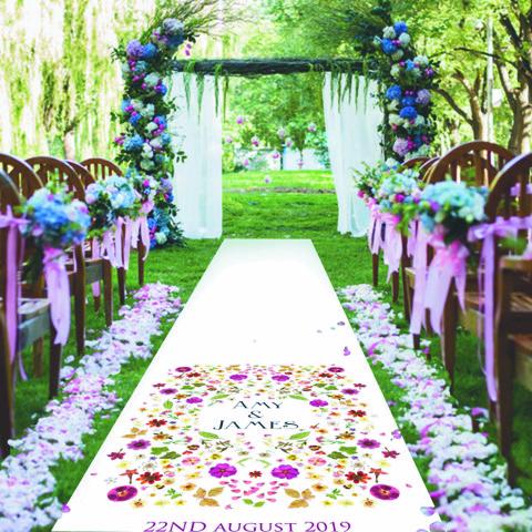 floral enchanted garden wedding venue decoration - Enchanted Garden
