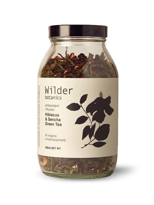 Hibiscus & Sencha Green Tea Antioxidant